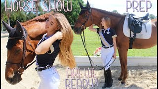 Download HUGE HORSE SHOW PREP! BARN VLOG! Video