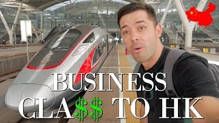 Download Chinese Bullet Train BUSINESS CLASS to Hong Kong! Video