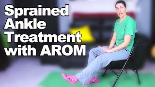 Download Sprained Ankle Treatment with Ankle/Foot AROM - Ask Doctor Jo Video