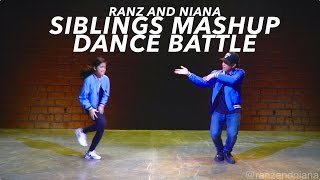Download Siblings Mashup Dance Battle (Bruno Mars - That's What I Like Mix) | Ranz and Niana Video