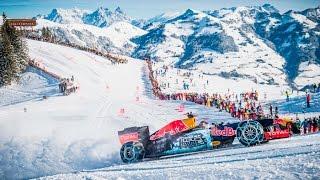 Download Background Max Verstappen F1 Snow Demo Red Bull RB7 Hahnenkamm, Kitzbühel, 14/01/2016 Video