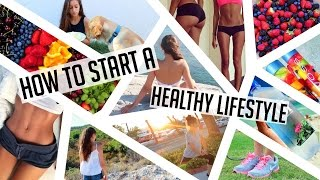 Download HOW TO START A HEALTHY LIFESTYLE! Get fit, stay organized, eat healthy ♥ Video