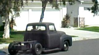 Download Kustom 56 Ford F100 Build - maiden voyage rear end Video