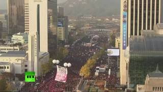 Download Rally against President Park in South Korea (streamed live) Video