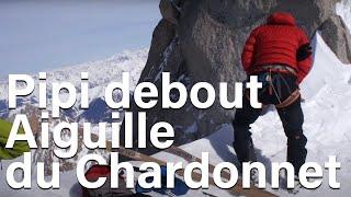 Download Aiguille du Chardonnet pipi debout avec Marion Poitevin Chamonix Mont-Blanc montagne alpinisme Video