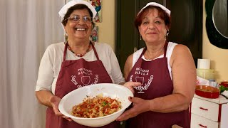 Download Pasta Grannies discover Albanian style tagliatelle with breadcrumbs from Basilicata Video