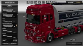Download (Ets2 1.25.2.6)Scania RJl Tandem v4 and Side Windows v2 Video