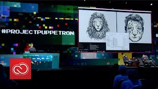 Download #ProjectPuppetron: Adobe MAX 2017 (Sneak Peeks) | Adobe Creative Cloud Video
