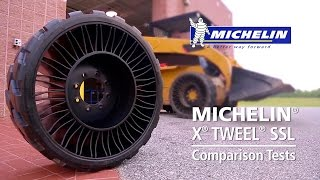 Download Michelin® X® TWEEL® SSL Comparison Tests Video