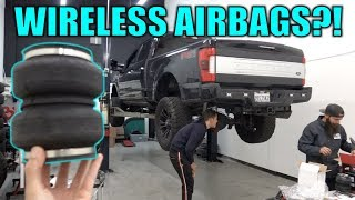 Download WIRELESS AIRBAGS FOR THE SUPERDUTY! (Plus job site update) Video