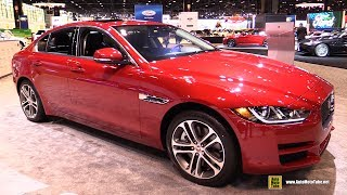 Download 2017 Jaguar XE 3.5t Premium AWD - Exterior and Interior Walkaround - 2017 Chicago Auto Show Video