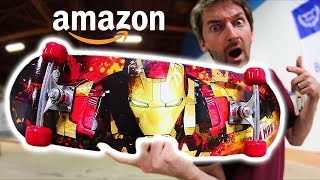 Download THE CHEAPEST SKATEBOARD ON AMAZON! | CHEAP SKATES EP 11 Video