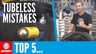 Download Top 5 Mistakes You'll Make When Going Tubeless | Mountain Bike Maintenance Video