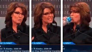 Download Sarah Palin Out-Palins Herself In Weird, Wild, 'Tragic' Speech Video