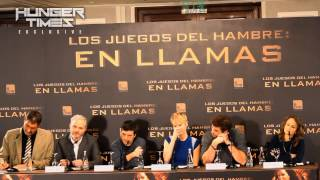 Download Hunger Times EXCLUSIVE: 'Catching Fire' cast & crew at Madrid Press Conference (PART 1/3) Video
