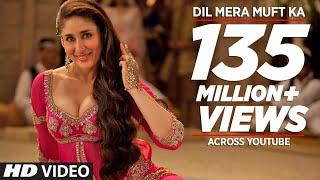 """Dil Mera Muft Ka"" Full Song , Agent Vinod , Kareena Kapoor"