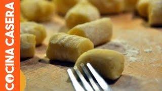 Download Cómo hacer ñoquis caseros de patata. Recetas Italianas Video