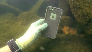 Download Found 3 GoPros, iPhone, Gun and Knives Underwater in River! - Best River Treasure Finds of 2016 Video