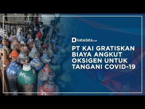 KAI Gratiskan Biaya Angkut Oksigen untuk Tangani Covid-19   Katadata Indonesia