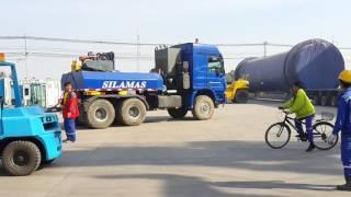 Download ชิ้นงานใหญ่ Silamas transport. Video