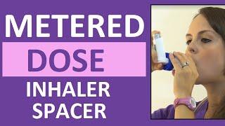 Download Metered-Dose Inhaler (MDI) with Spacer Demonstration Nursing Video