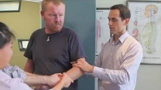Download Dr Ian - DISLOCATED ELBOW Adjustment - FIXED by Gonstead Chiropractic Video
