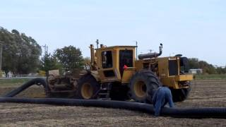 Download Farm Drainage and Unrolling 12 inch Tile Video