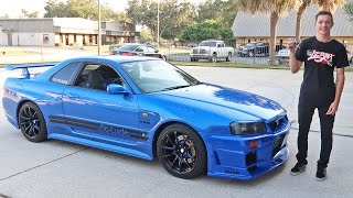 Download Driving an R34 Skyline GTR in the USA Video