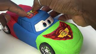 Download DIY Kinetic Sand Cars 3 Lightning McQueen PJ Masks Colors Kinetic Sand Disney Pixar Cars 3 Movie Video