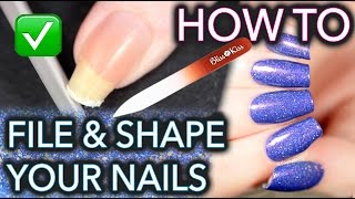 Download How to FILE and SHAPE your nails like a BOSS Video