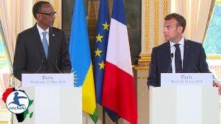 Download Rwanda President Boldly Educates French President in Press Confess Video