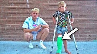 Download Tydus BROKE HIS LEG!! (hospital) Video