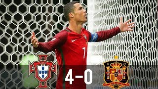 Download Portugal vs Spain 4-0 - All Goals & Extended Highlights - 17/11/2010 HD Video