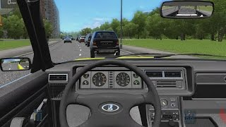 Download City Car Driving - Lada 2107 Limousine | Fast Driving Video