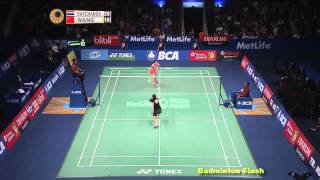 Download [Highlights][Ratchanok Intanon Vs Wang Shixian][Bca Indonesia 2015] Video