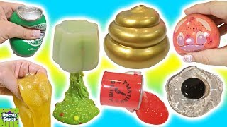 Download Cutting Open GOLDEN Squishy ! Can I Make Slime From a Squishy!? Doctor Squish Video
