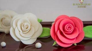 Download Como hacer rosas de fondant. EL PARAISO DE LOS SABORES Video