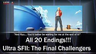 Download All 20 Endings!!! Ultra Street Fighter II: The Final Challengers Video