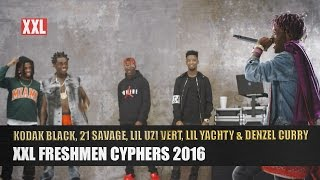 Download Kodak Black, 21 Savage, Lil Uzi Vert, Lil Yachty & Denzel Curry's 2016 XXL Freshmen Cypher Video