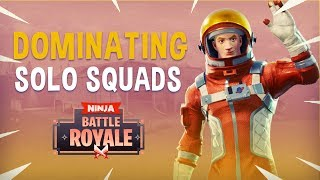 Download Dominating Solo Squads! - Fortnite Battle Royale Gameplay - Ninja Video