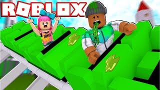 Download RIDING A ROLLER COASTER IN ROBLOX Video
