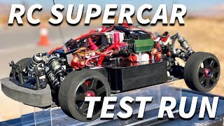 Download 24 Horsepower RC SUPERCAR TEST RUN Video