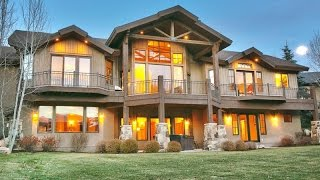 Download Prestigious Mountain Home in Park City, Utah Video