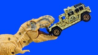 Download Jurassic Park Jurassic World Matchbox Set With Tyrannosaurus Rex Lockdown Dinosaur Set Video