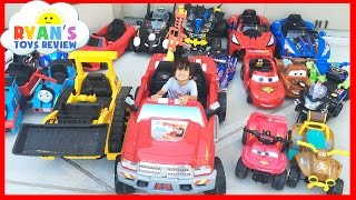 Download HUGE POWER WHEELS COLLECTIONS Ride On Cars for Kids Compilations Part 1 Video