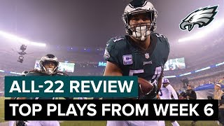 Download The Top Plays From A Big NFC East Win | Eagles All-22 Review Video