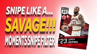 Download NBA 2K17 - MyTeam - Moments Snipe Filter Video