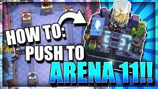 Download HOW TO GET TO ELECTRO VALLEY ARENA 11! EASY! Top 5 Ladder Deck - Clash Royale Best Arena 10 Deck Video