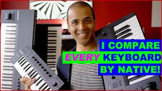 Download Native Instruments M32 compared with all their other keyboards Video