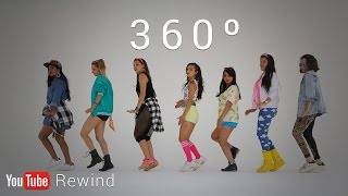 Download YouTube Rewind 2016: Epic Group Running Man Challenge in 360° #YouTubeRewind Video